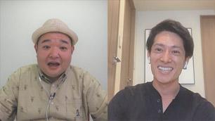 内山さんが篠崎選手をリモート取材